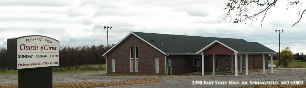 Pleasant View Church Of Christ